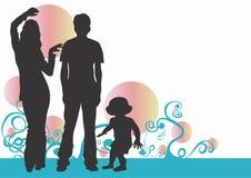 Familia ilustración del vector