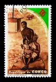 Familia, año internacional del serie de la familia, circa 1994 Imagen de archivo libre de regalías