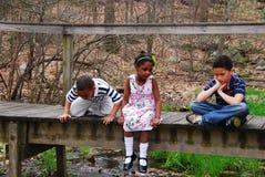 Familia adoptiva Fotografía de archivo libre de regalías