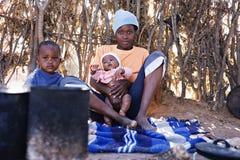 Familia africana Imágenes de archivo libres de regalías