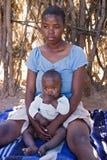 Familia africana Imagen de archivo libre de regalías