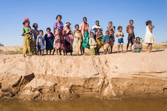 Familia africana Fotos de archivo libres de regalías