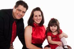 Familia americana con el niño Fotos de archivo libres de regalías
