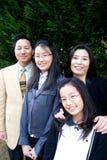 Familia asiática Fotografía de archivo libre de regalías