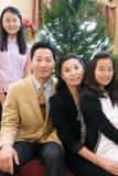 Familia asiática Imagen de archivo libre de regalías