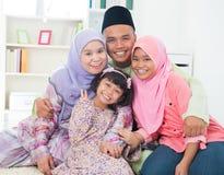 Familia asiática imagen de archivo