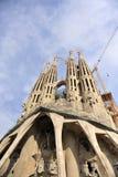 Familia Barcelona Royalty Free Stock Photography