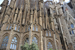 Familia Barcelona Royalty Free Stock Images