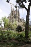 Familia Barcelona spain de Sagrada Imagens de Stock