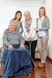 Familia con tres generaciones en fotos de archivo libres de regalías