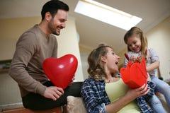 Familia con un niño Imágenes de archivo libres de regalías