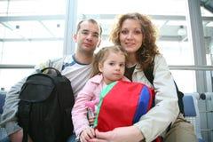Familia de Ðraveling Imagen de archivo