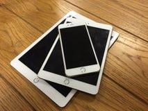 Familia 2 de Apple Fotos de archivo