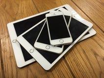 Familia de Apple Fotos de archivo