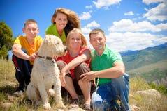 Familia de Colorado Imagenes de archivo