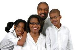 Familia de cuatro miembros Fotografía de archivo