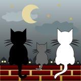 Familia de gato libre illustration