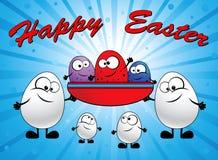 Familia de huevos Foto de archivo libre de regalías