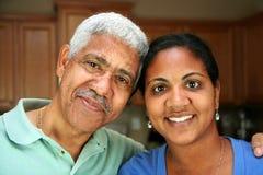 Familia de la minoría Imágenes de archivo libres de regalías