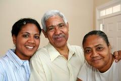 Familia de la minoría fotografía de archivo libre de regalías