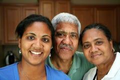 Familia de la minoría Fotos de archivo libres de regalías