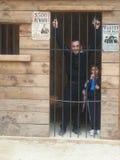 Familia de la prisión fotos de archivo libres de regalías