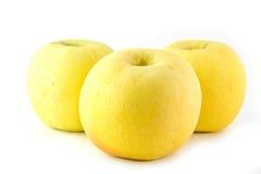 Familia de las manzanas Fotos de archivo