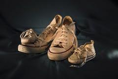 Familia de las zapatillas de deporte Fotografía de archivo libre de regalías