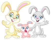 Familia de los conejitos