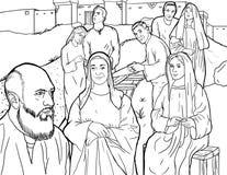 Familia de Noah Imagenes de archivo
