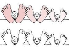 Familia de relajación libre illustration