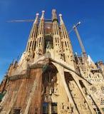 Familia de Sagrada, Barcelone image stock