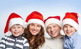 Familia de Santas Imagenes de archivo