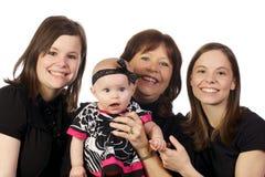 Familia de tres generaciones Imagen de archivo