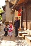 Familia del Bai Fotos de archivo