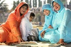 Familia del Islam foto de archivo