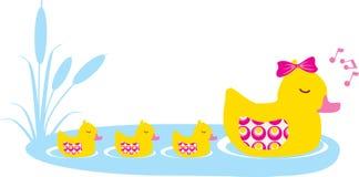 Familia del pato libre illustration
