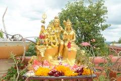 Familia del shiva del señor Imagen de archivo