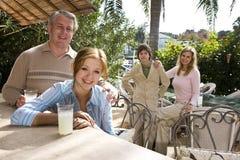 Familia el vacaciones Imagen de archivo