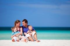 Familia el vacaciones Fotografía de archivo