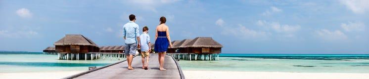 Familia el vacaciones de verano foto de archivo libre de regalías