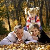 Familia feliz Foto de archivo libre de regalías