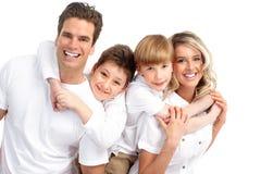 Familia feliz Imagen de archivo libre de regalías