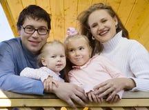 Familia feliz 3 Fotos de archivo libres de regalías