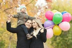 Familia feliz Foto de archivo