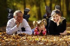 Familia feliz Imágenes de archivo libres de regalías