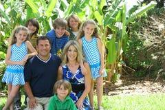 Familia hermosa Fotografía de archivo