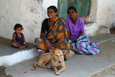 Familia india Fotos de archivo