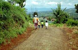 Familia indonesia Imágenes de archivo libres de regalías