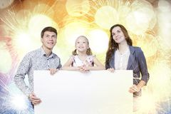 Familia joven Imágenes de archivo libres de regalías